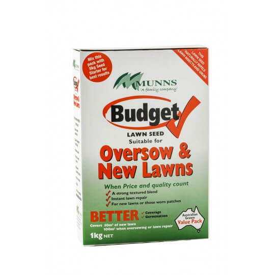 Budget lawn seed 1kg